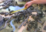 T-34s swarm across the bridges. The mortars try to destroy one of these bridges, but fail.
