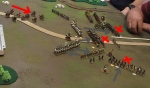 Three Polish foot units break in one turn, breaking their division. The mounted Poles wisely decide to call it a day.