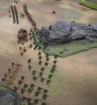 Gurkha deployed in open order