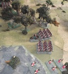 Roman right flank