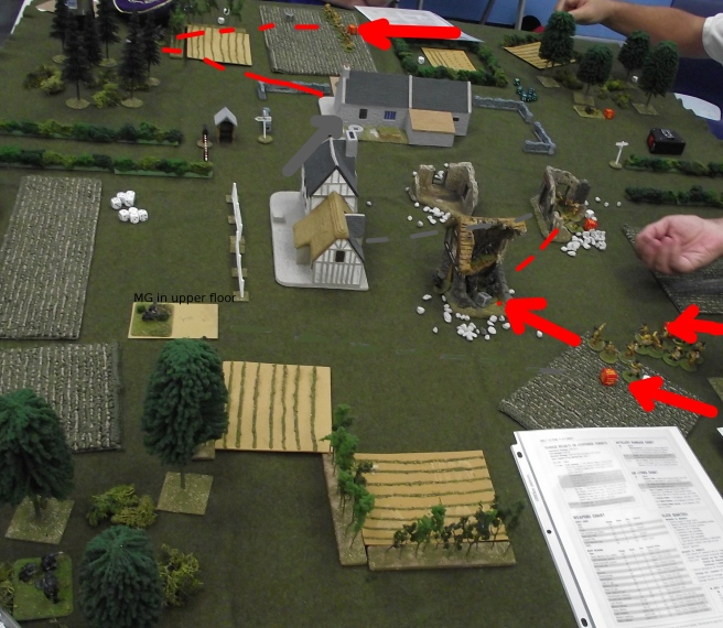 Assault combats eliminate one Russian and two German squads.