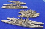 Seapower rules 1/1200 scale WWII