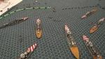 Taranto attack 1/600 scale