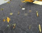 Aerodrome WWII attack on British convoy