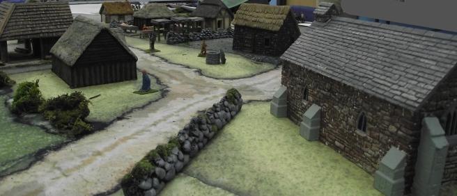 A sleepy village in Britain....