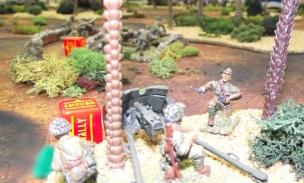 A Japanese AT gun waits in ambush.
